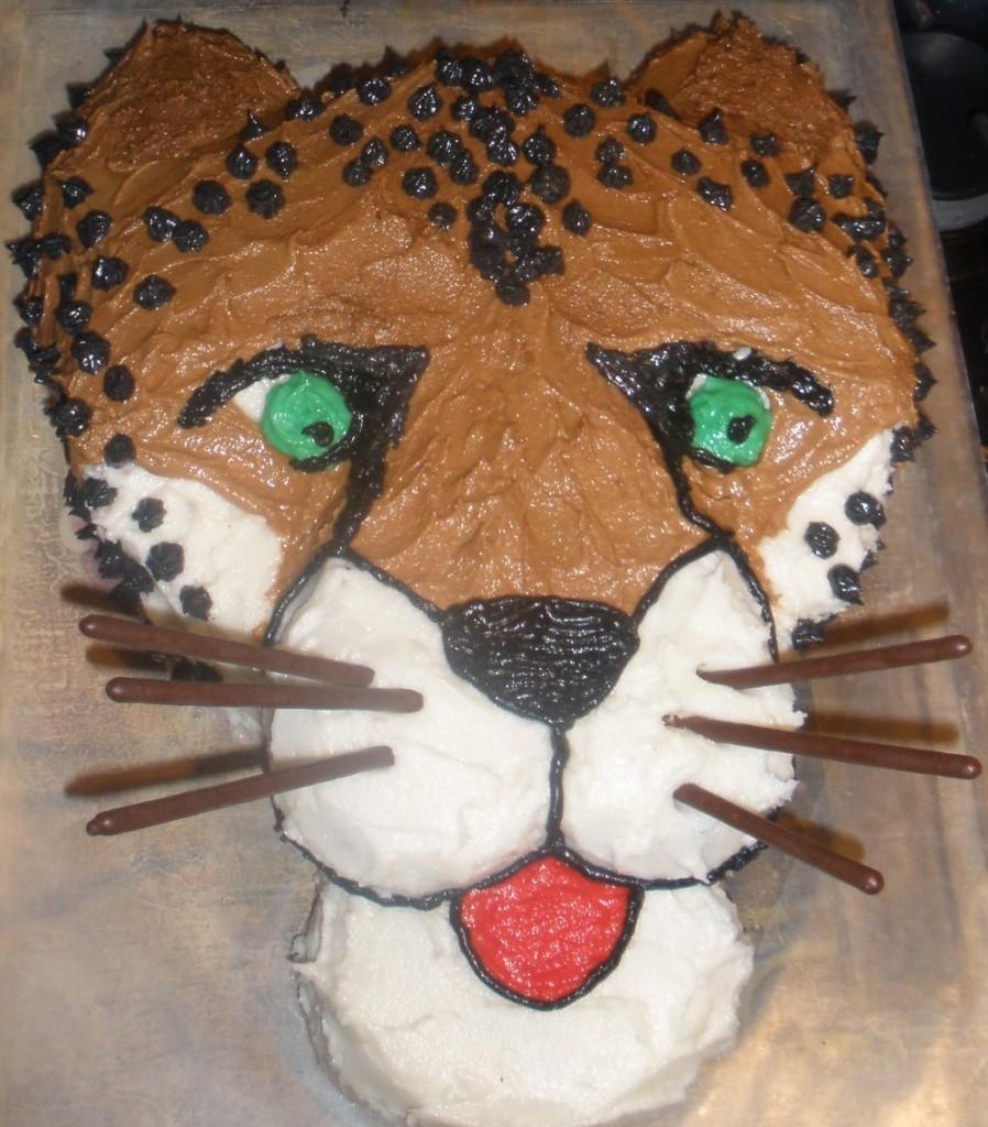 Cheetah Cakes