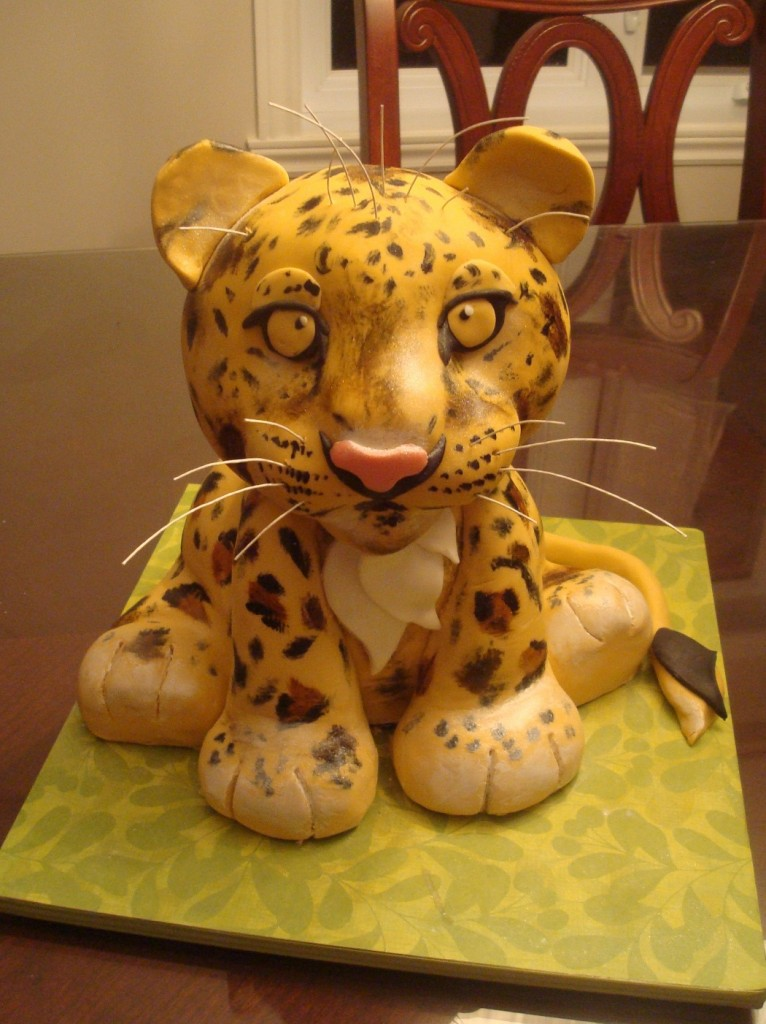 Cheetah Cakes Pictures