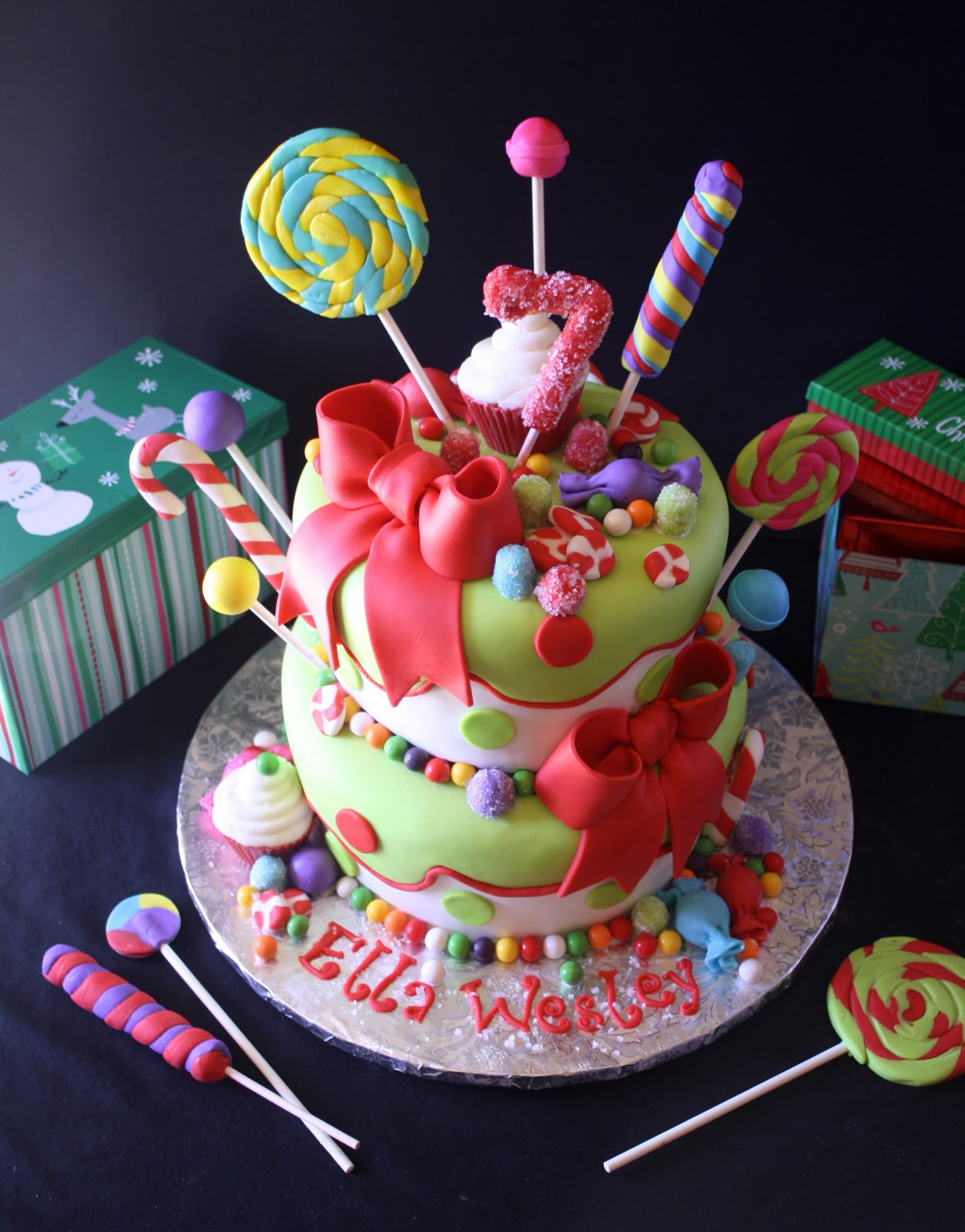 Christmas Birthday Image.Christmas Cakes Decoration Ideas Little Birthday Cakes