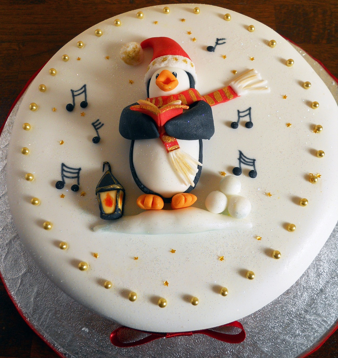 Easy Christmas Cake Decorating Ideas For Beginners.Christmas Cakes Decoration Ideas Little Birthday Cakes