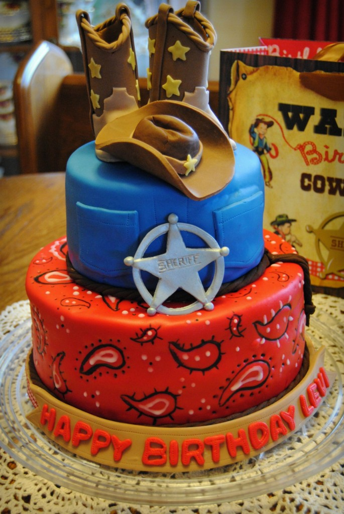 Cowboy Birthday Cake Ideas