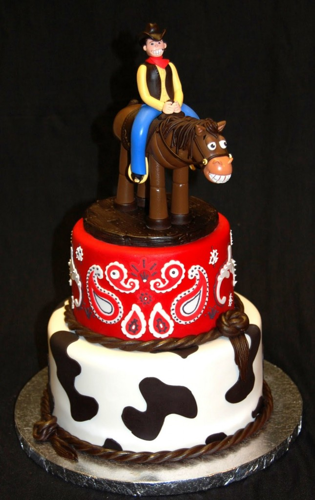Cowboy Birthday Cakes For Kids