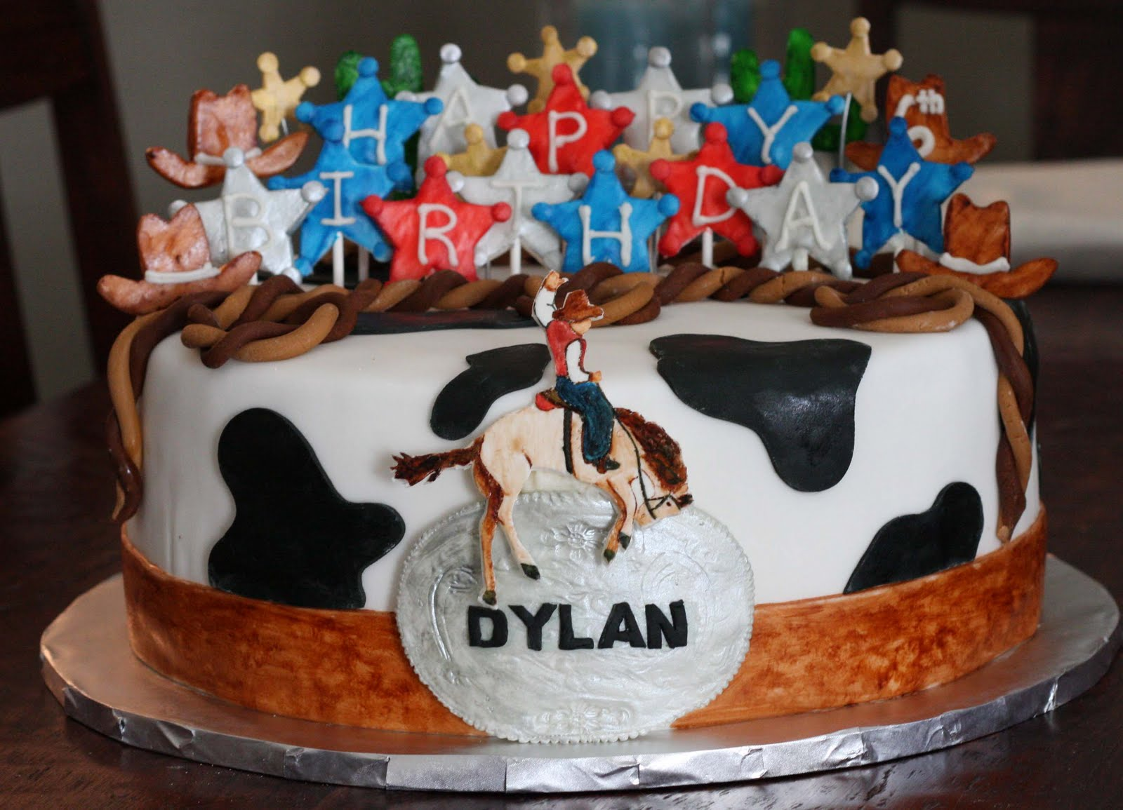 Incredible Cowboy Cakes Decoration Ideas Little Birthday Cakes Funny Birthday Cards Online Alyptdamsfinfo