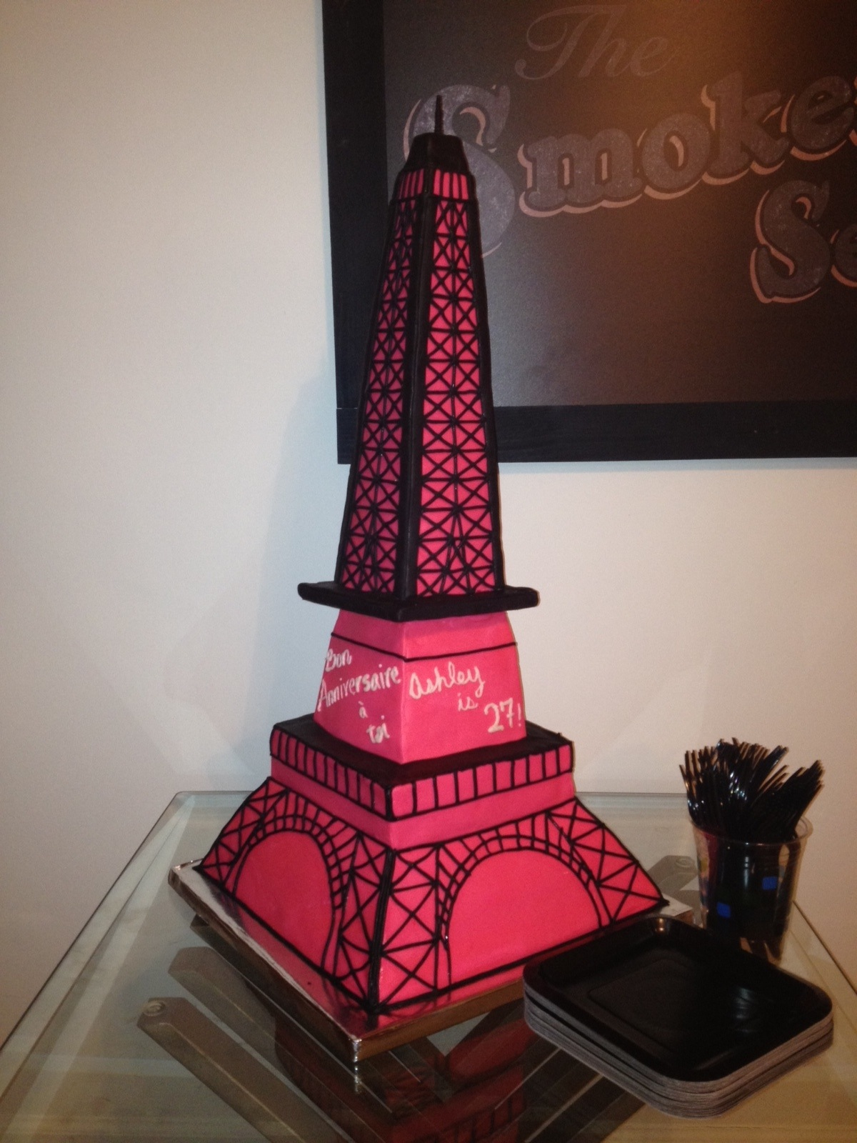 Surprising Eiffel Tower Cakes Decoration Ideas Little Birthday Cakes Funny Birthday Cards Online Aeocydamsfinfo