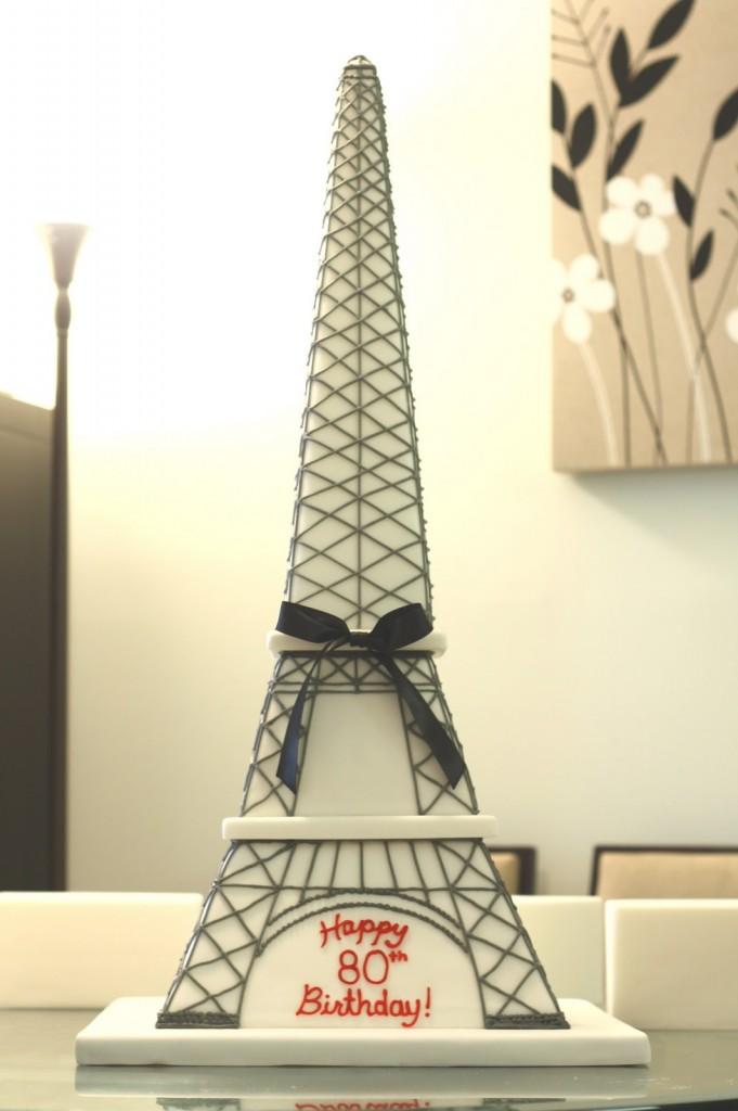 Eiffel Tower Cakes Photos