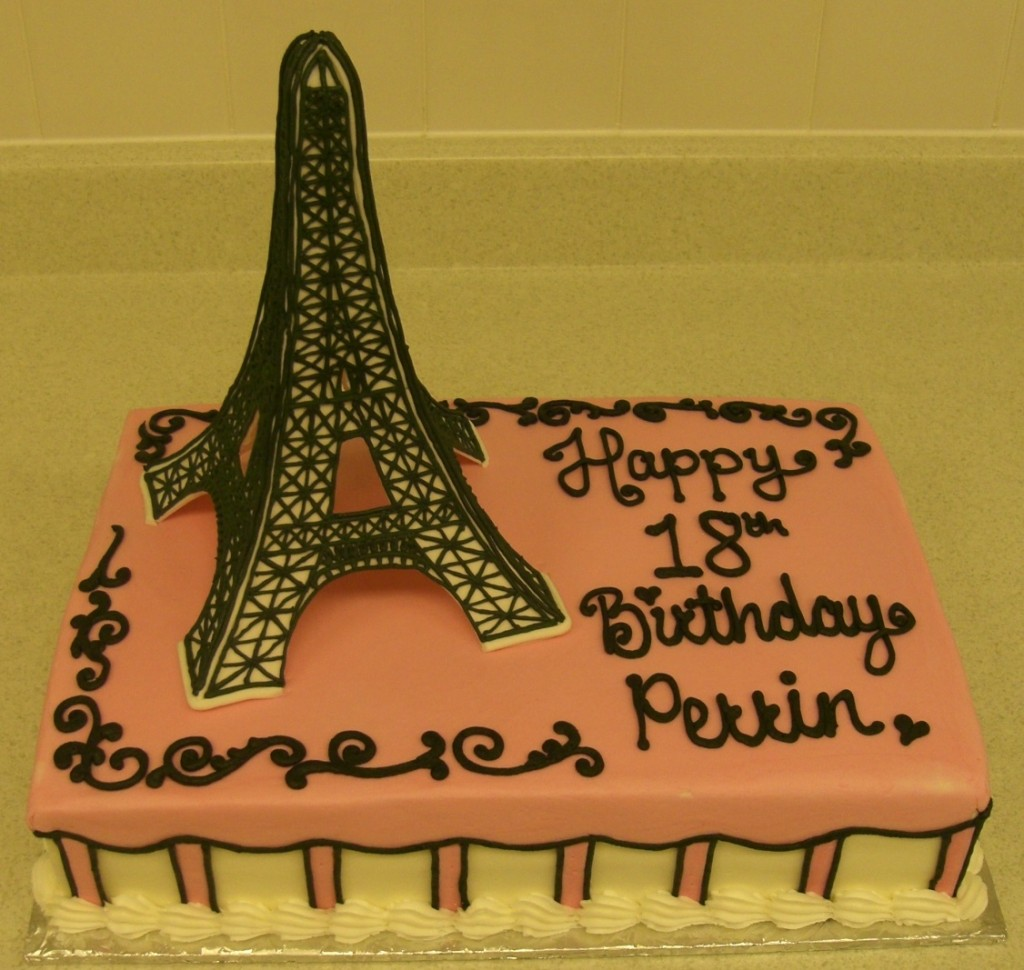 Eiffel Tower Cakes Pictures