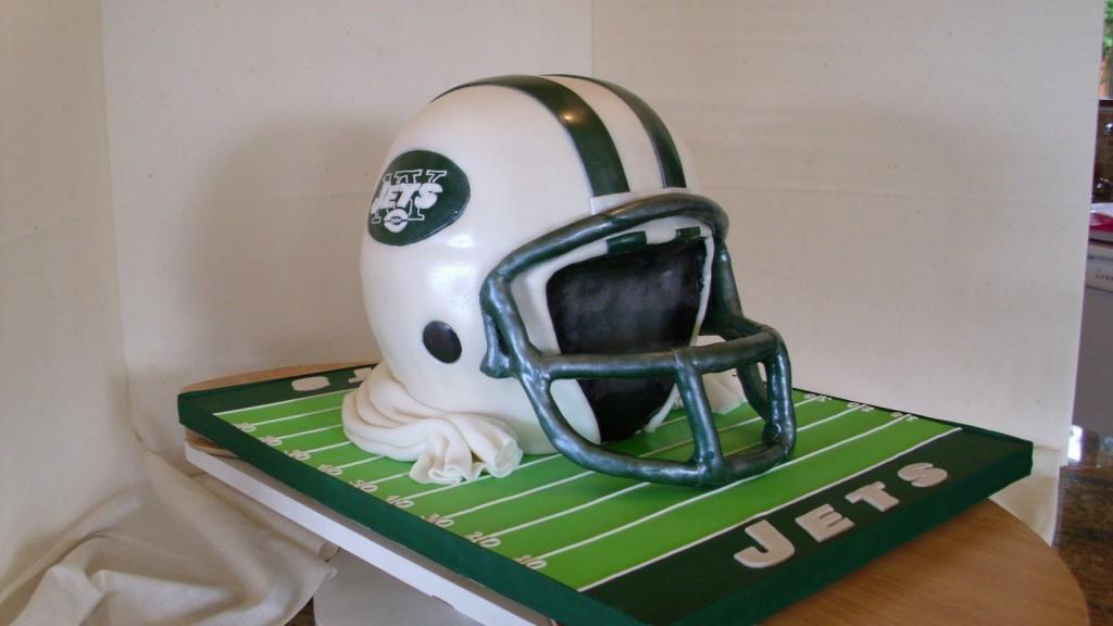 Football Helmet Cake Ideas