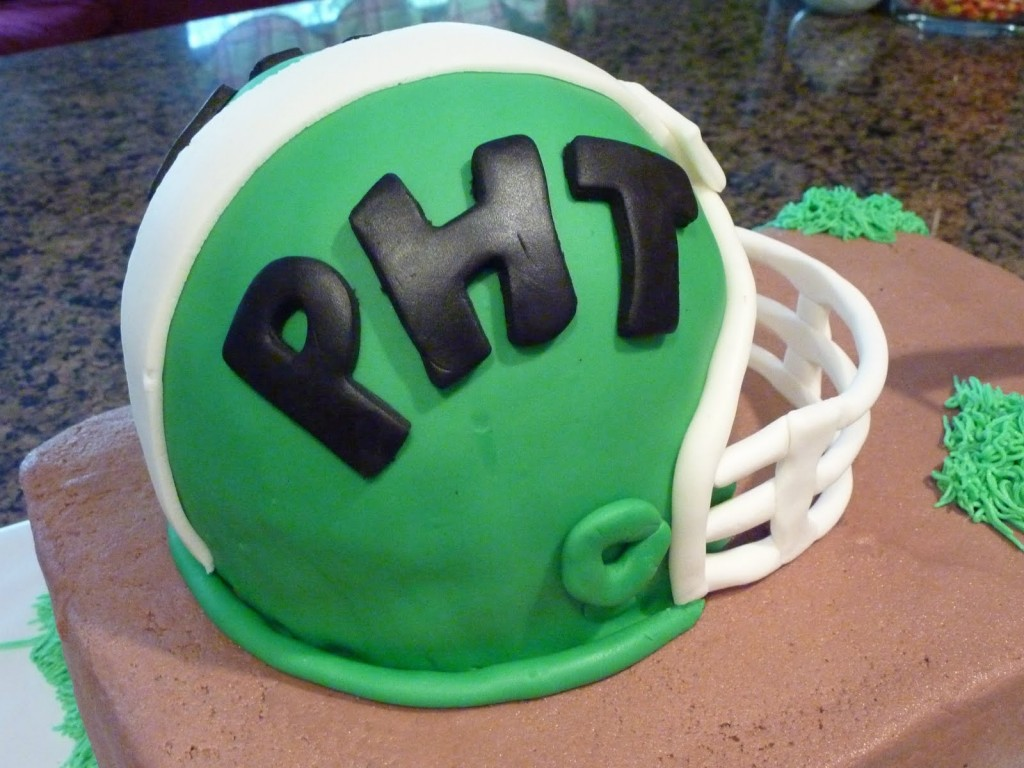 Football Helmet Cakes