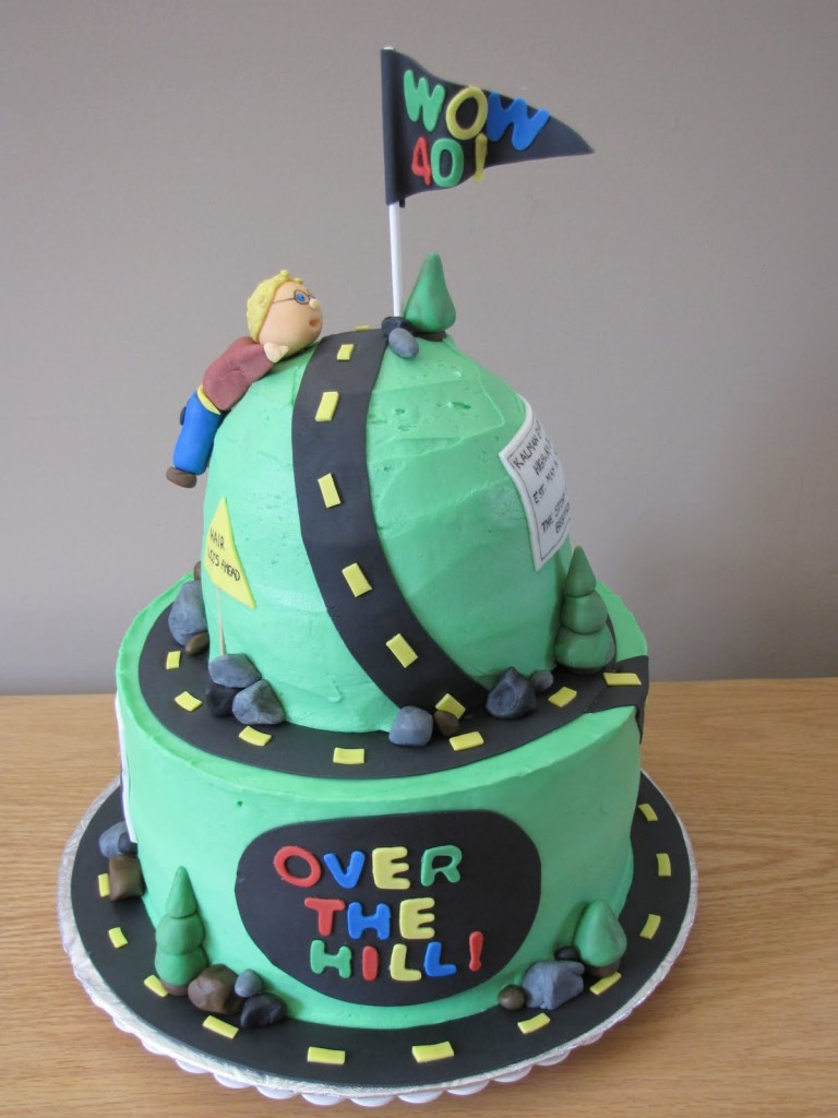 Funny Over The Hill Cakes