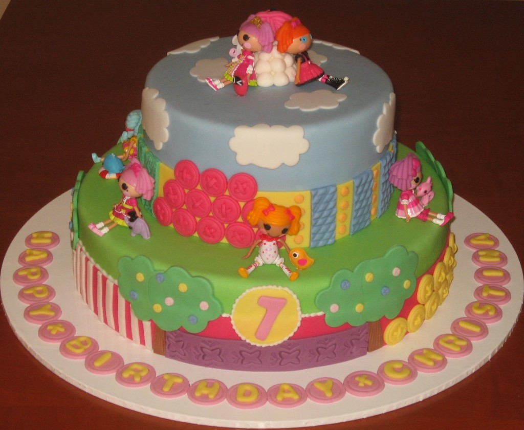 Lalaloopsy Birthday Party Cakes