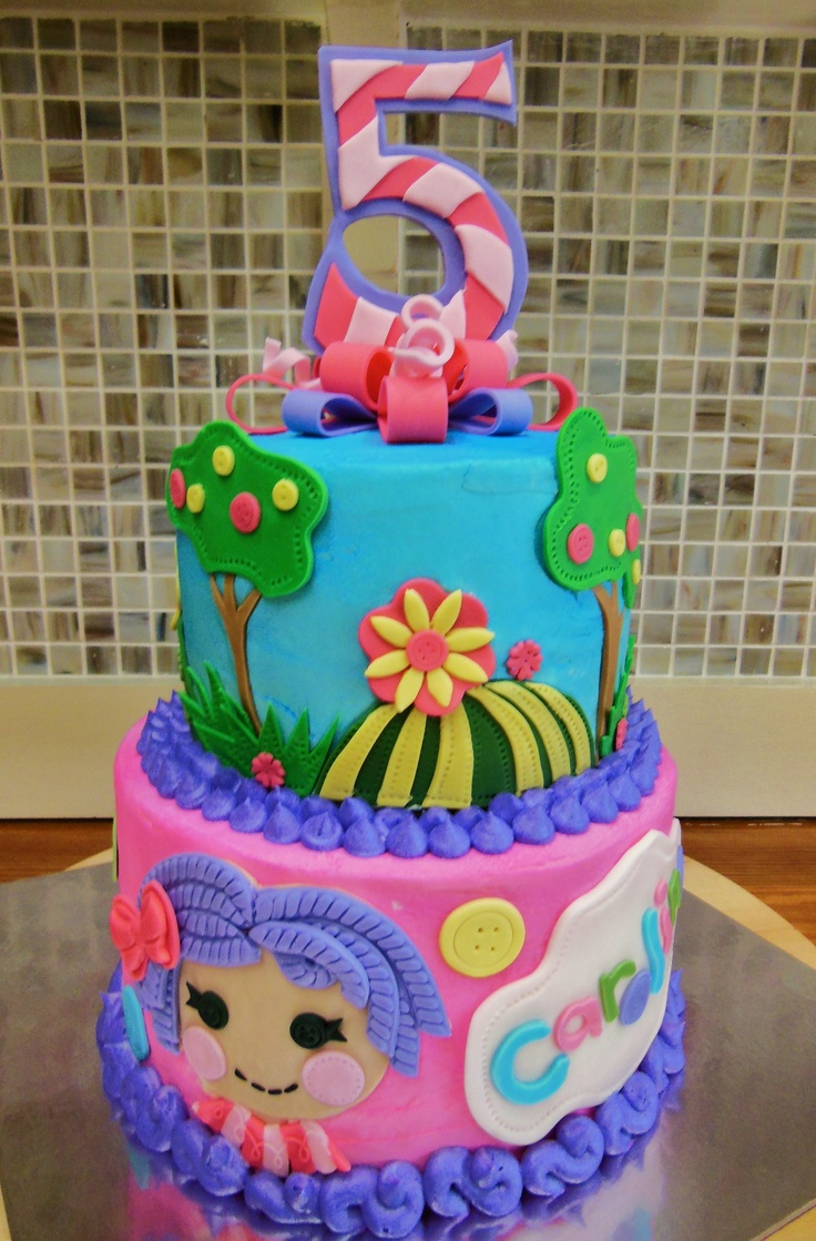 Astounding Lalaloopsy Cakes Decoration Ideas Little Birthday Cakes Personalised Birthday Cards Rectzonderlifede
