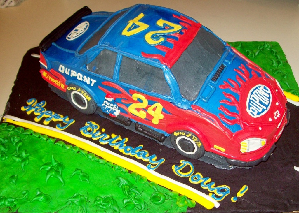 Nascar Cake Decorations