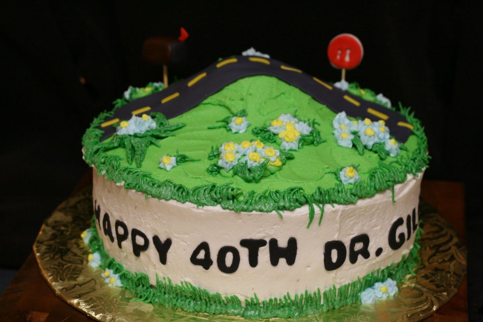 Wondrous Over The Hill Cakes Decoration Ideas Little Birthday Cakes Personalised Birthday Cards Vishlily Jamesorg