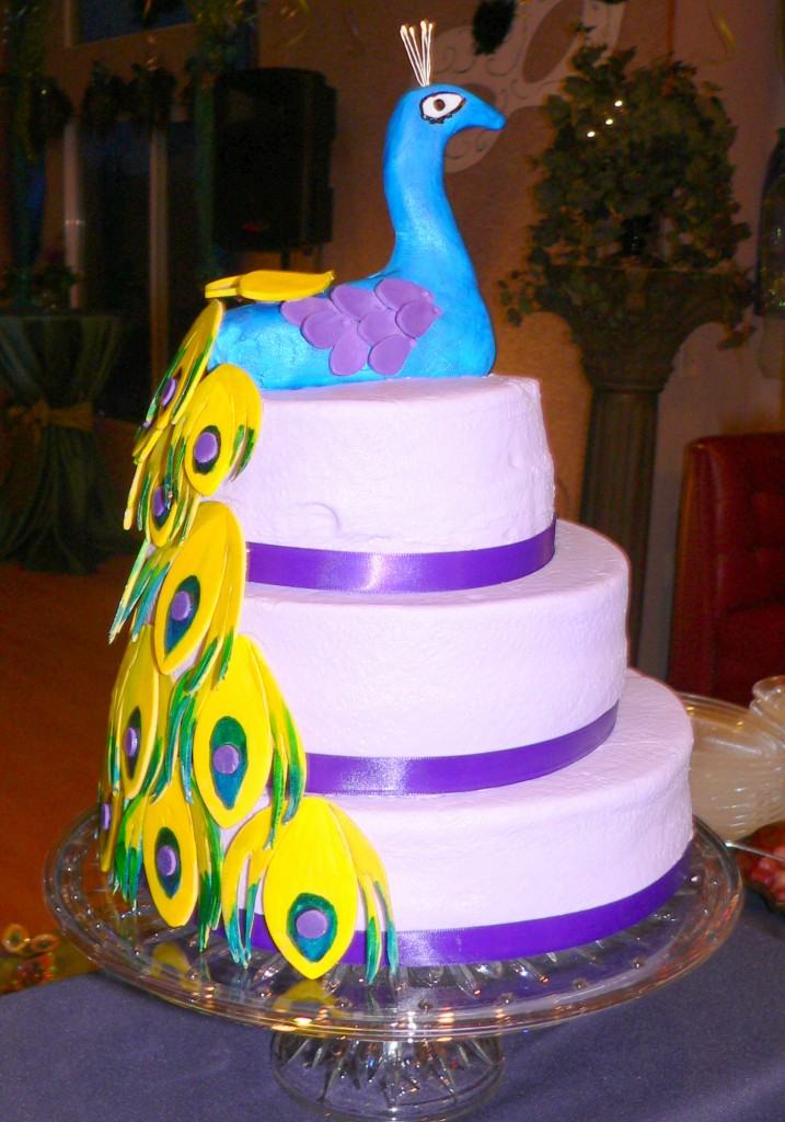 Peacock Cake Pictures