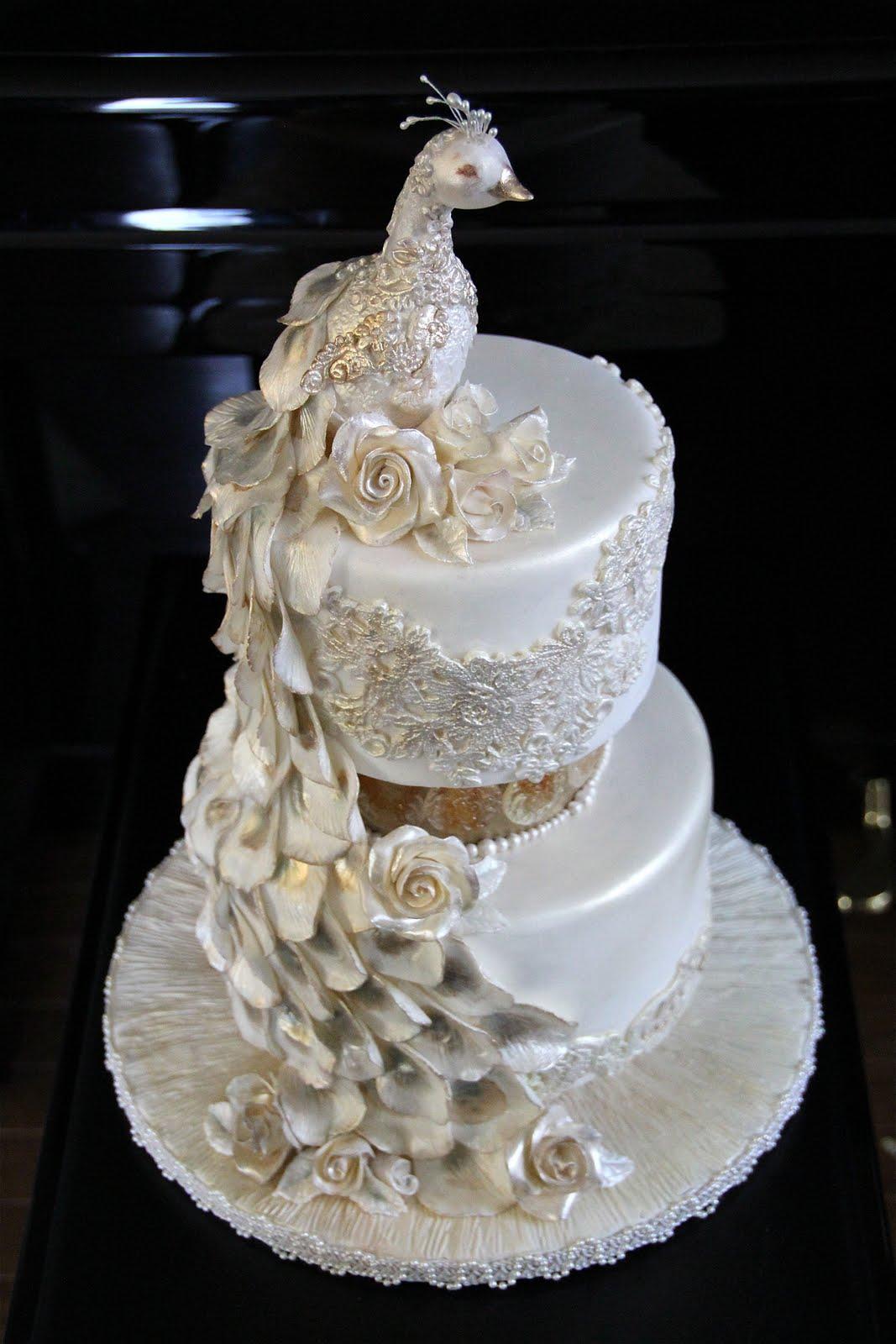 Peacock Cakes - Decoration Ideas   Little Birthday Cakes