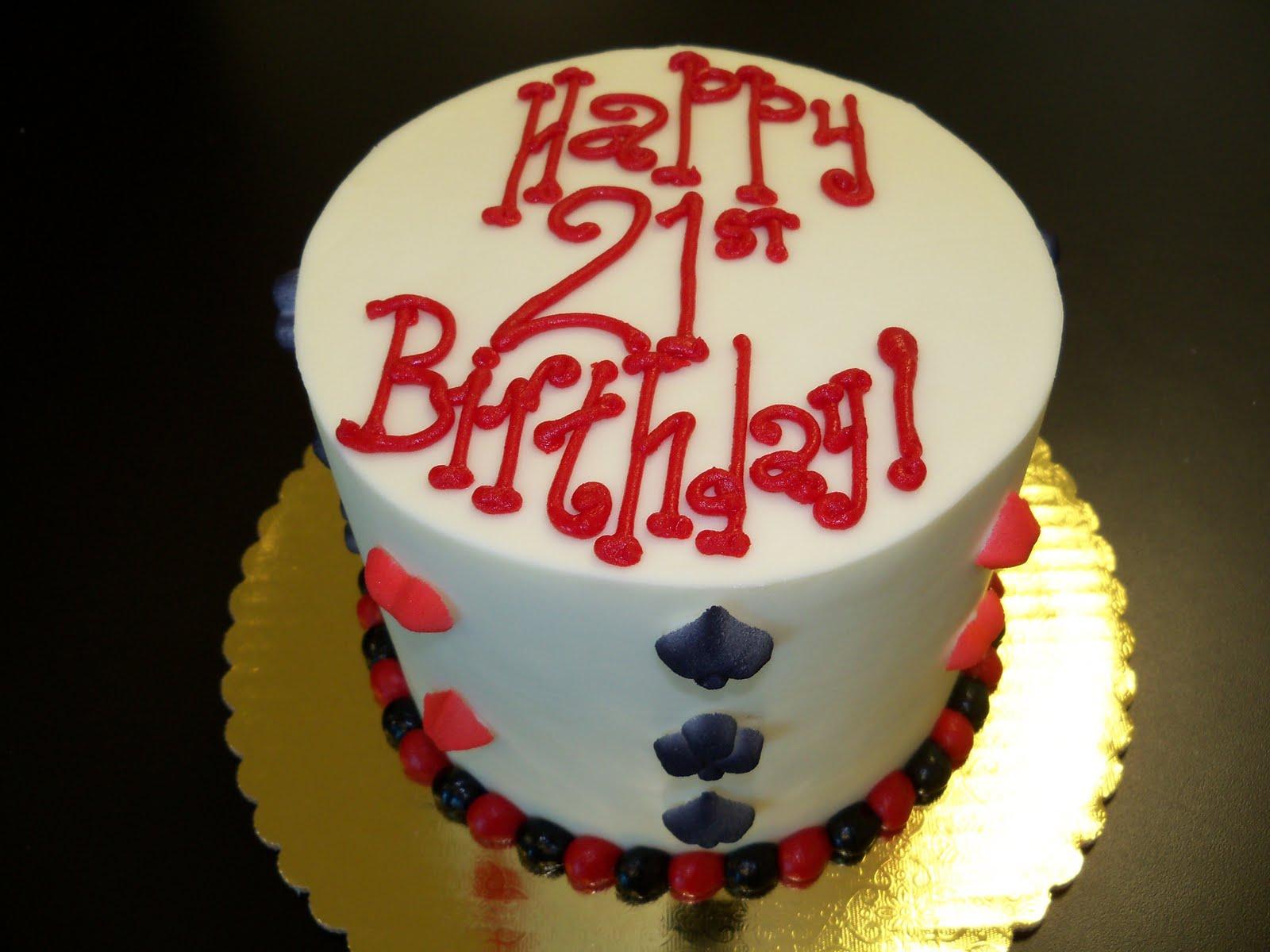 Terrific Birthday Cake Designs For 21 Year Old Boy Yummimages Funny Birthday Cards Online Elaedamsfinfo