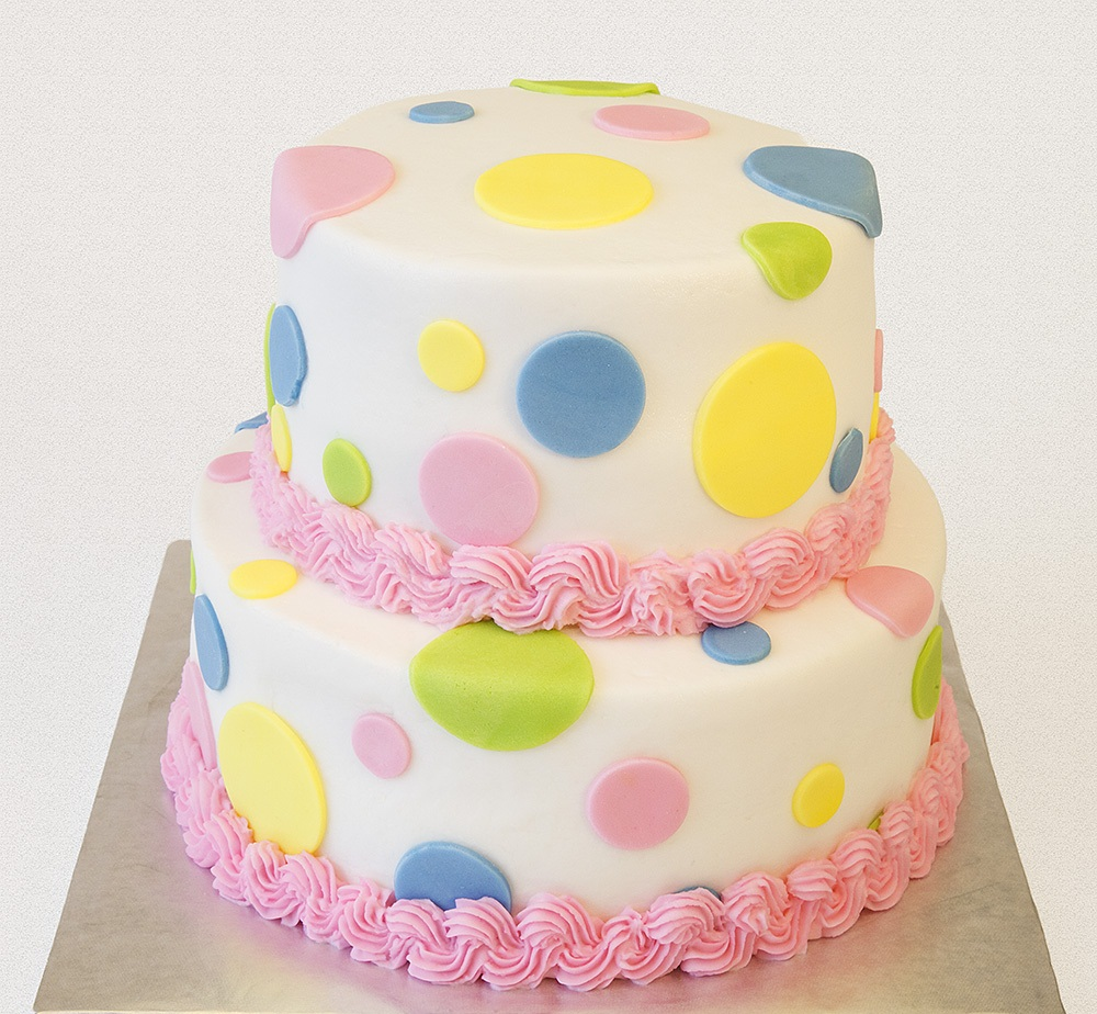 Polka Dot Birthday Cake Ideas
