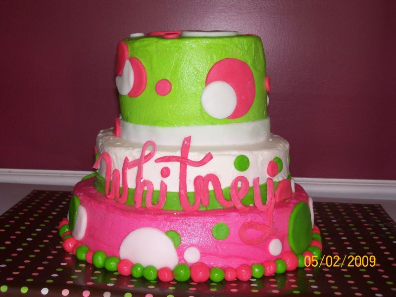 Polka Dot Cake Pictures