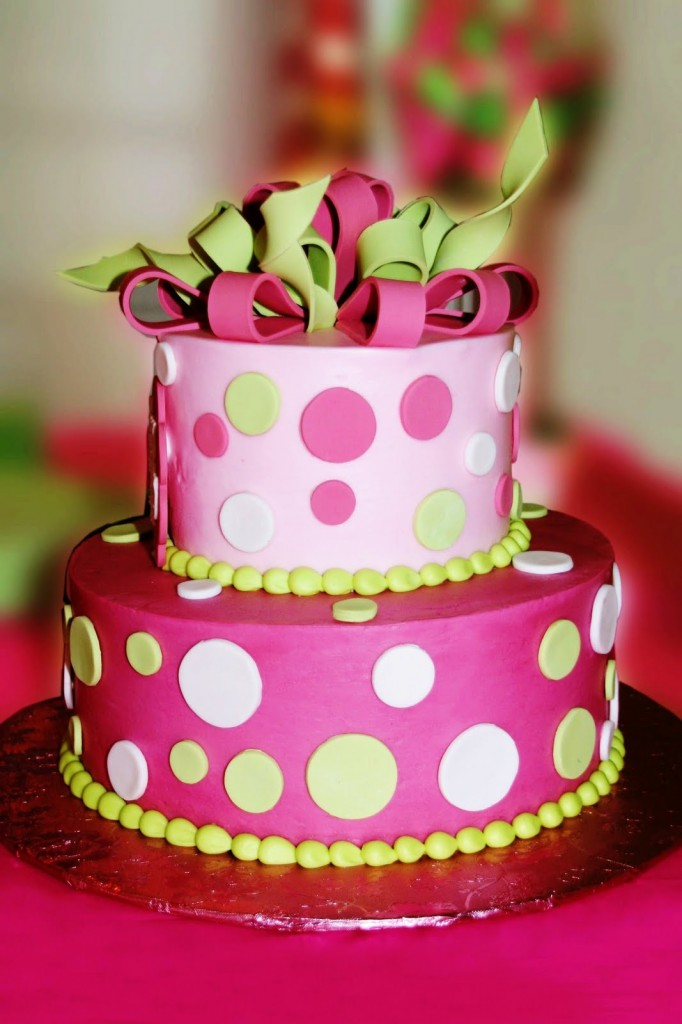 Polka Dot Cakes Pictures