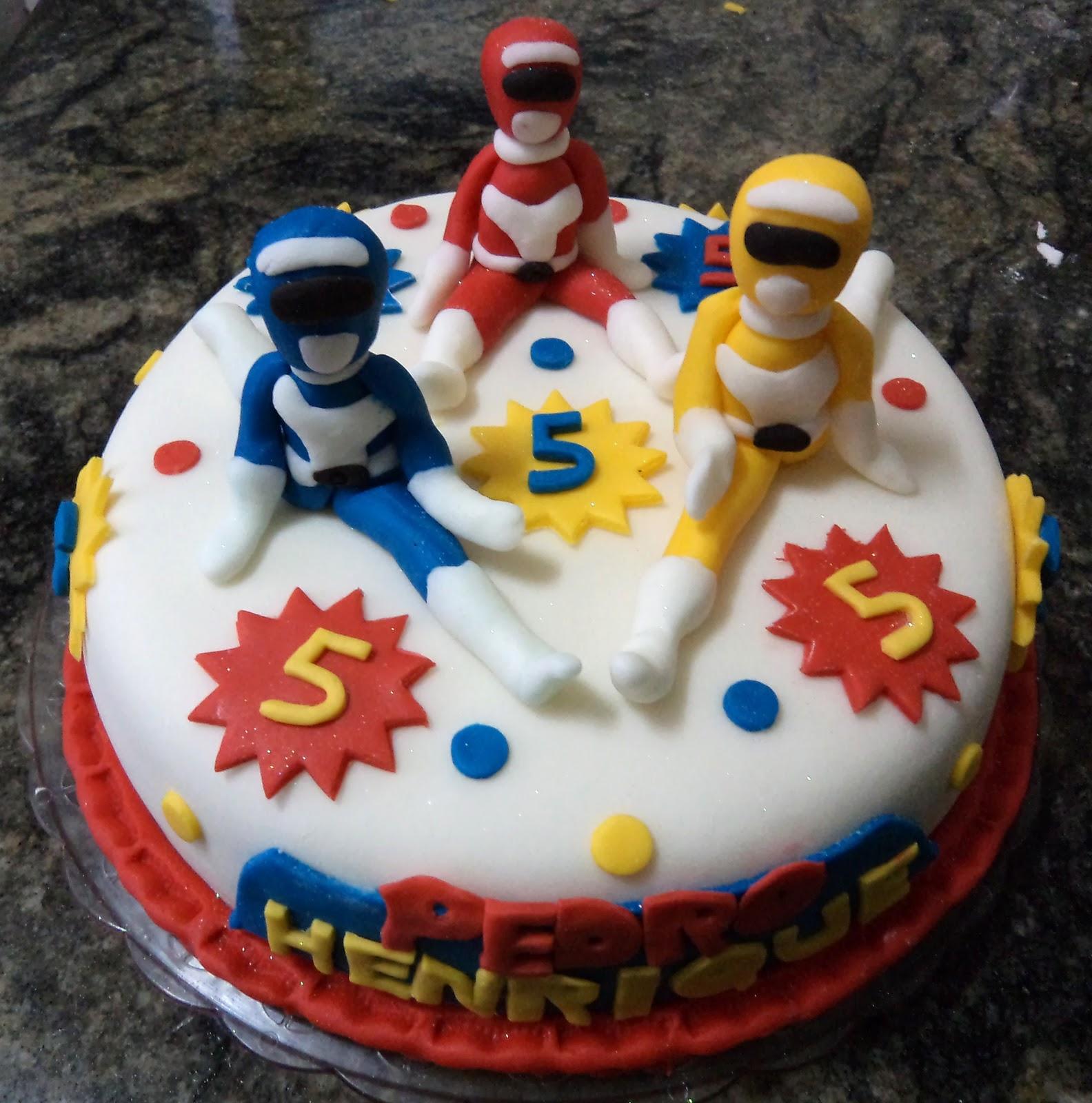 Power Rangers Birthday Cake.Power Ranger Cakes Decoration Ideas Little Birthday Cakes