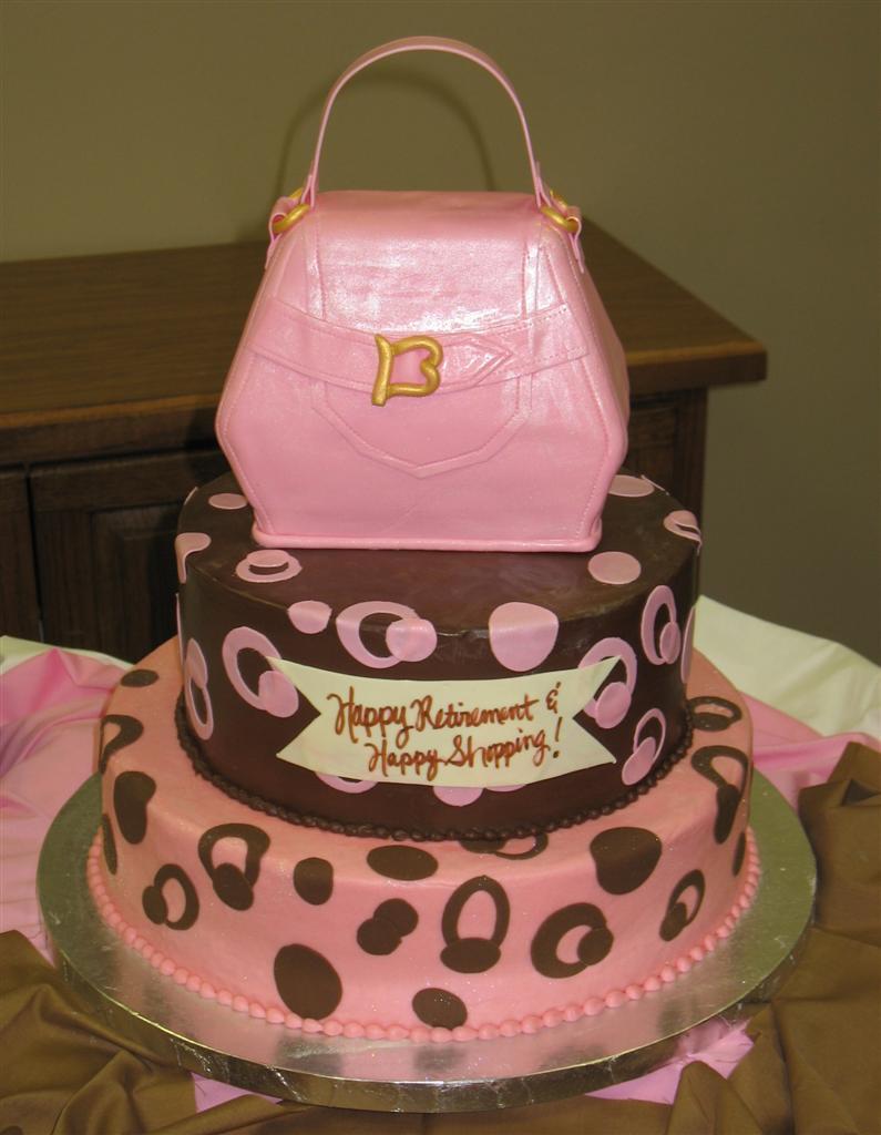 Purse Cake Design