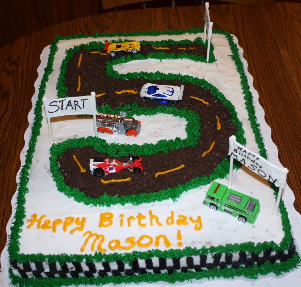 Race Track Cake Pictures