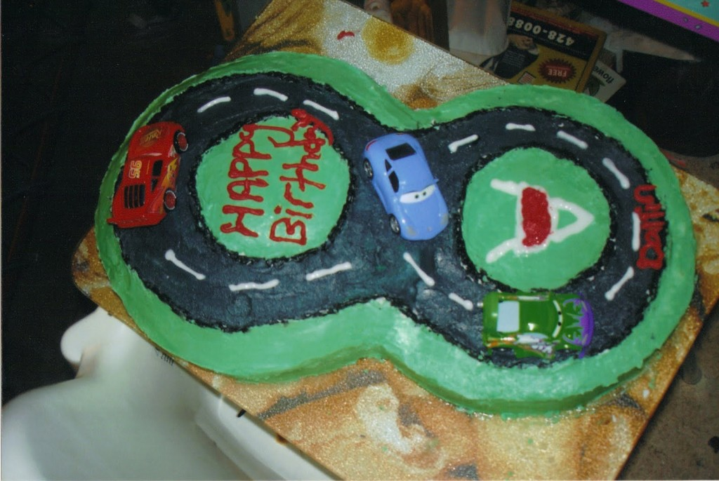 Race Track Cakes