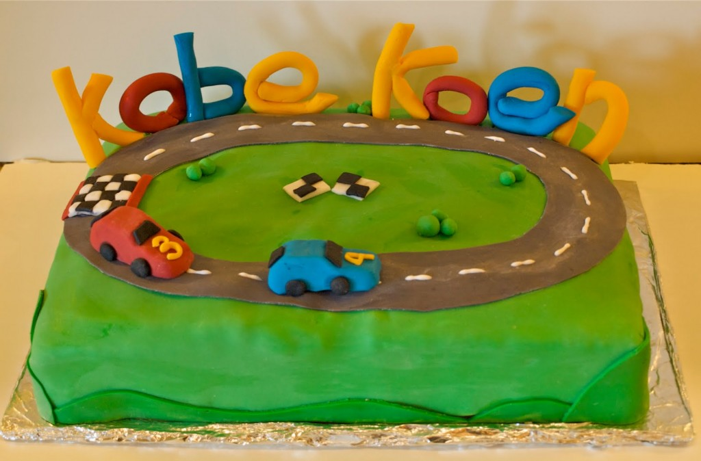 Race Track Cakes Pictures