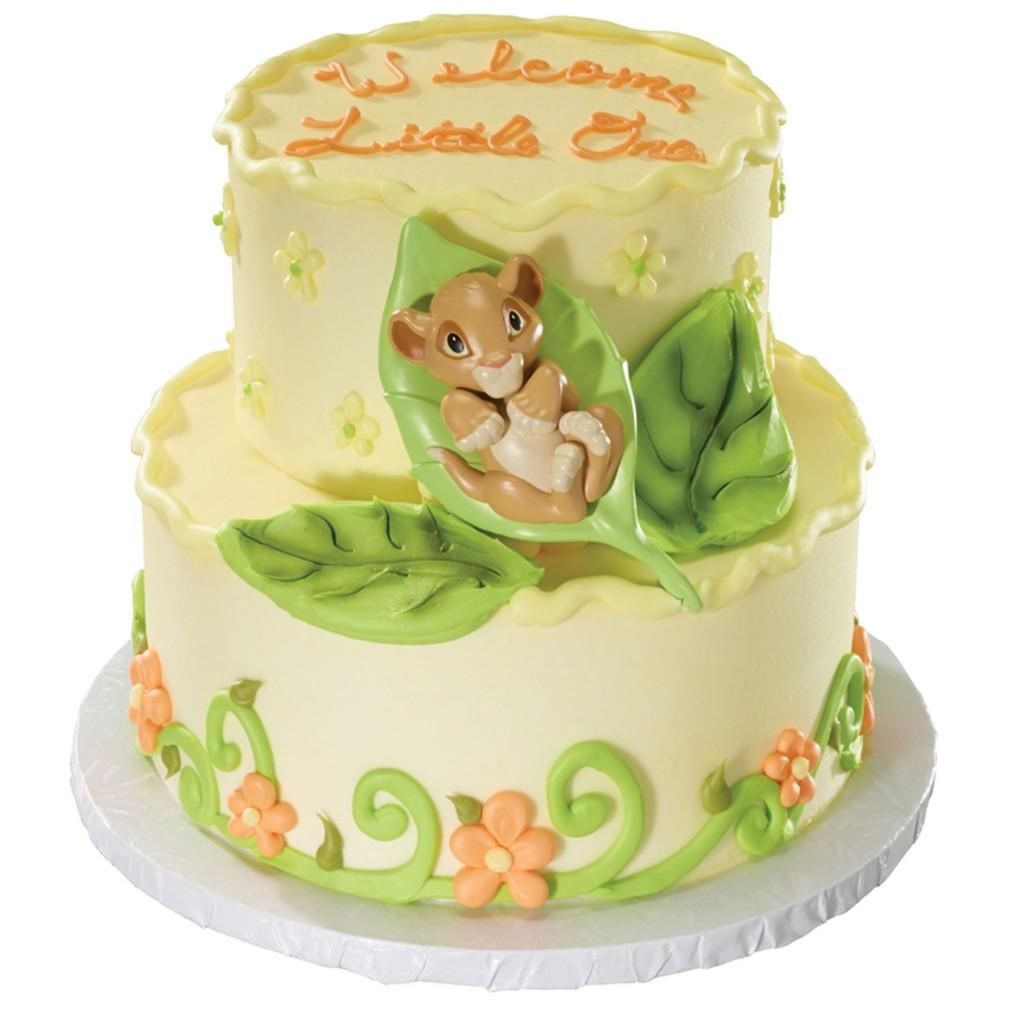 Simba Birthday Cake