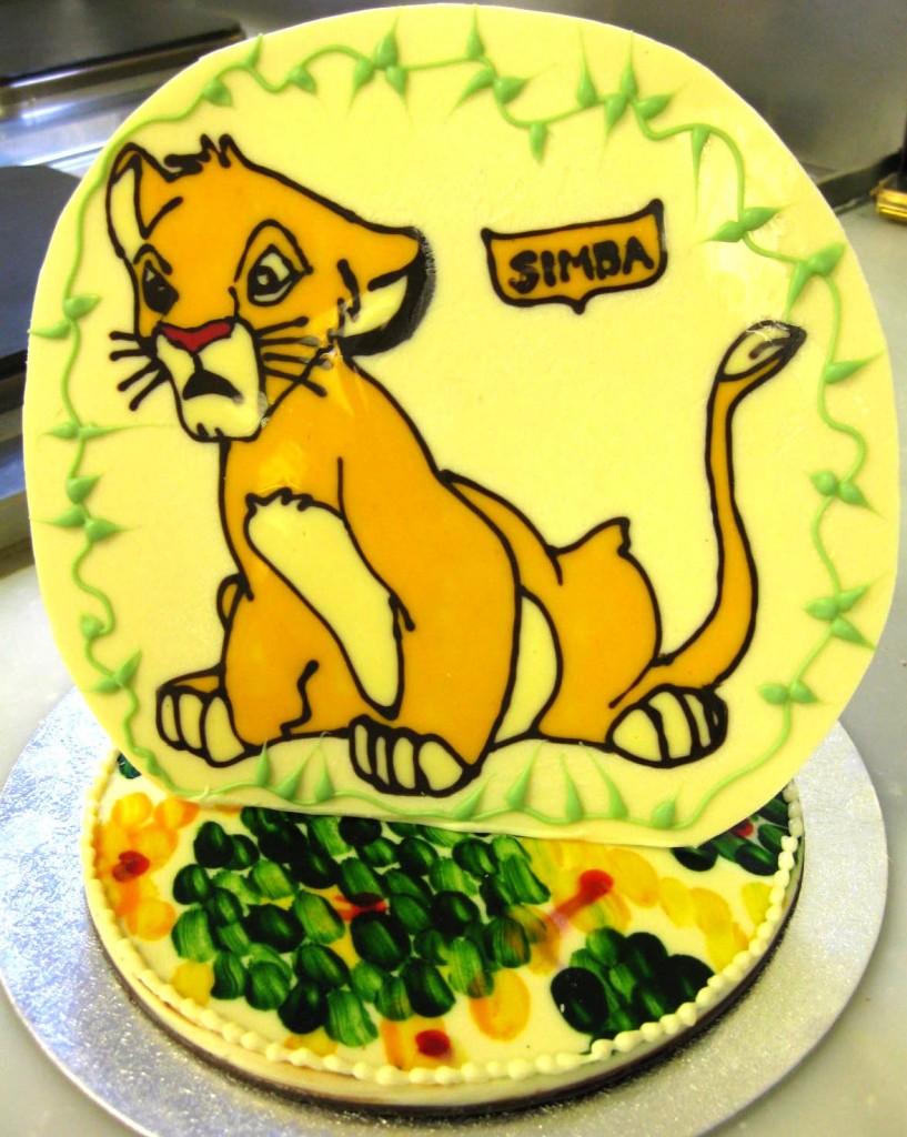 Simba Cake Ideas