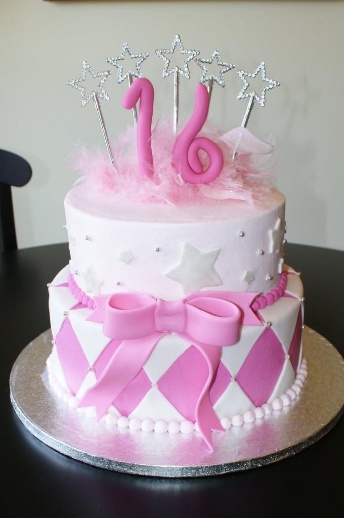 Sweet 16 Cake Designs
