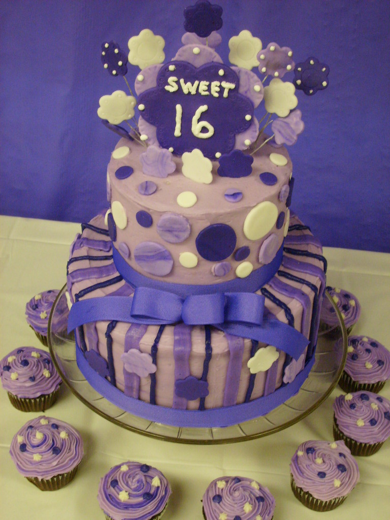 Brilliant Sweet 16 Cakes Decoration Ideas Little Birthday Cakes Funny Birthday Cards Online Alyptdamsfinfo