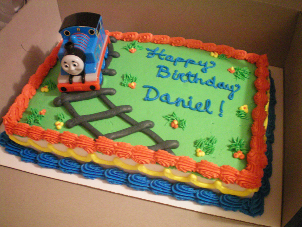 Thomas The Train Birthday Cake Ideas