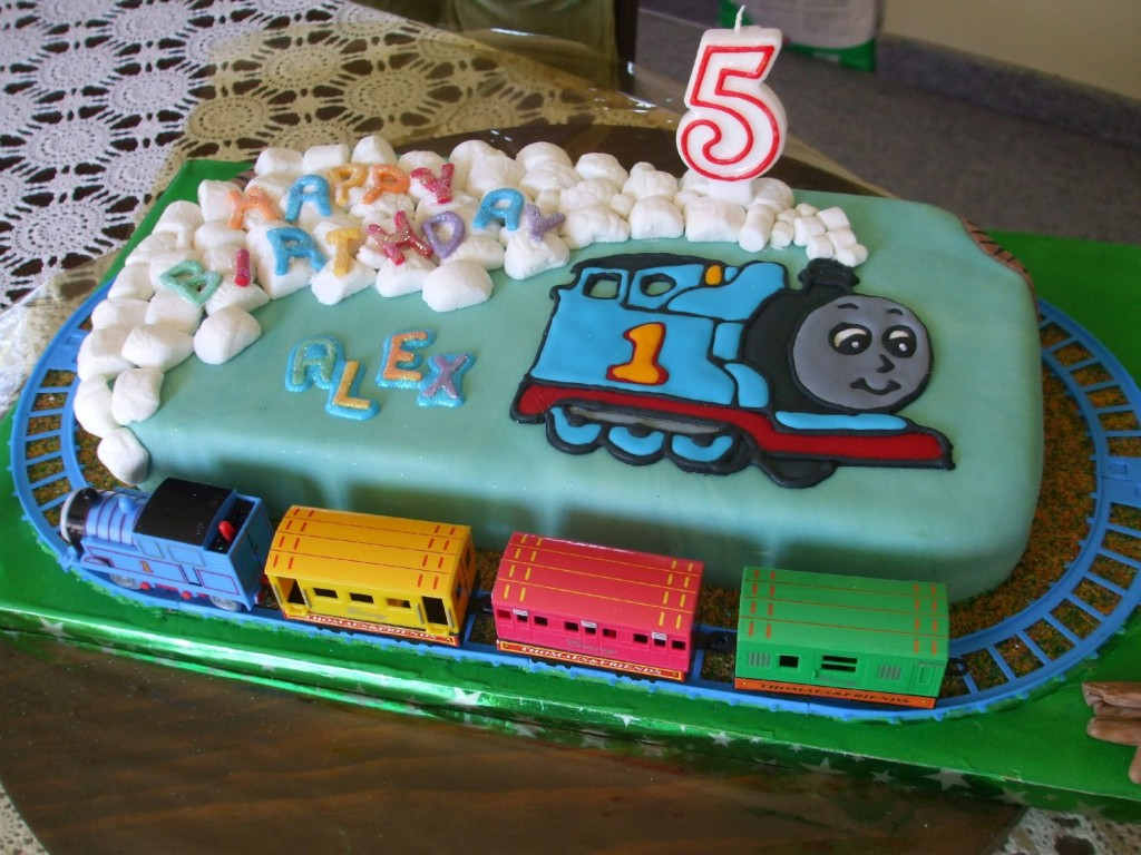 Thomas The Train Cakes Images