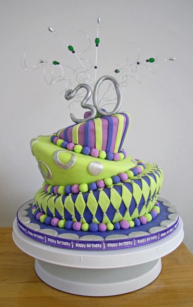 Topsy Turvy Birthday Cakes
