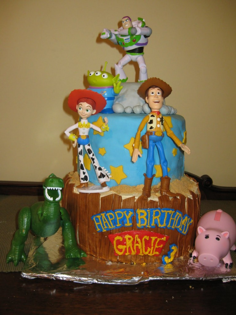 Toy Story Cake Decorations