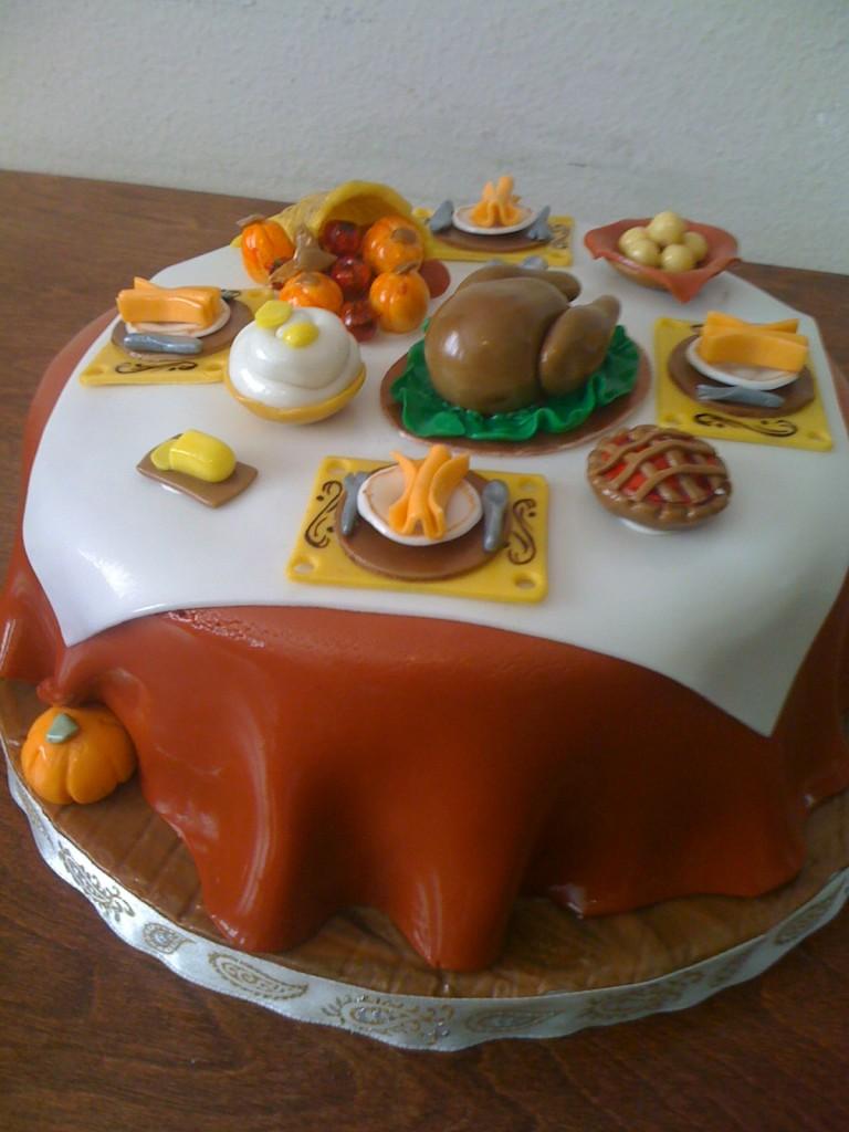 Cake For Thanksgiving
