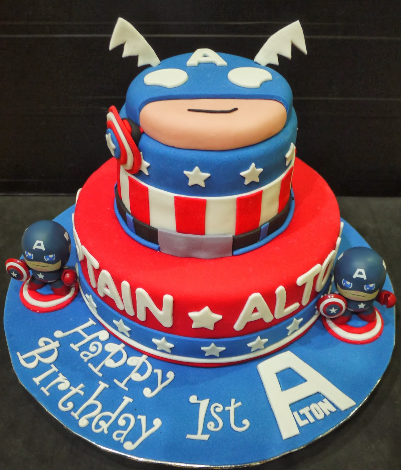 Captain America Birthday Images