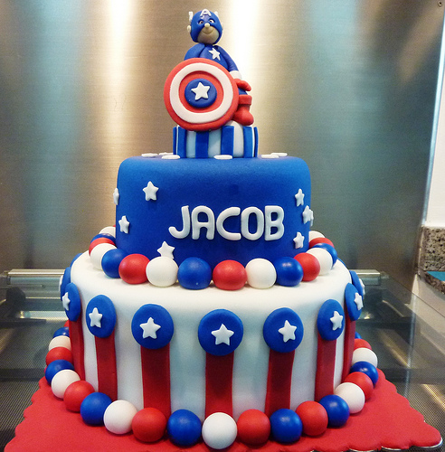 Captain America Cakes Pictures