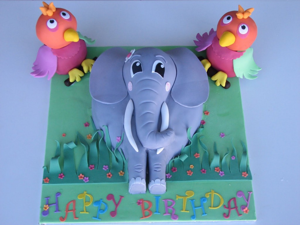 Elephant Cake Ideas