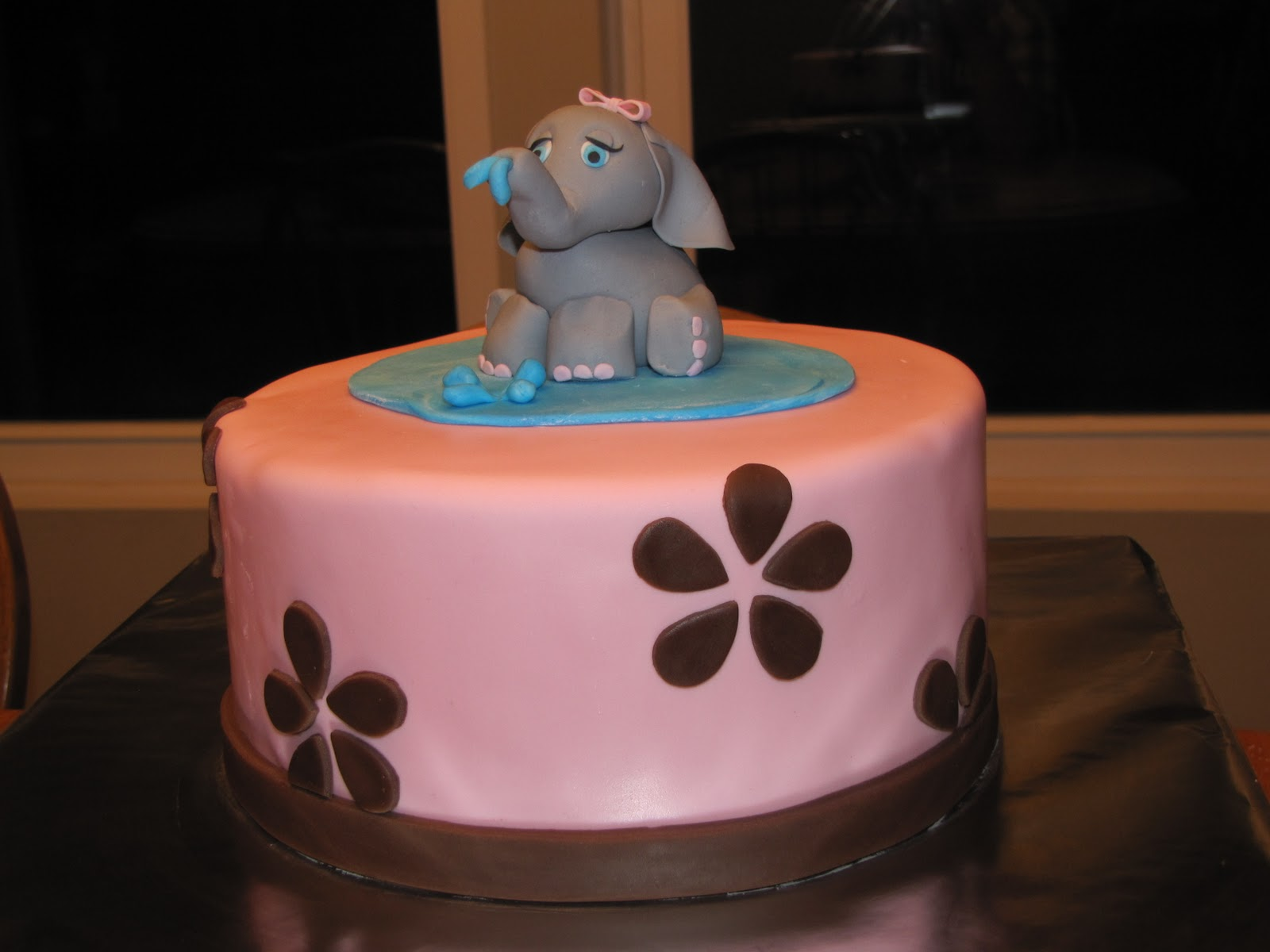 Excellent Elephant Cakes Decoration Ideas Little Birthday Cakes Funny Birthday Cards Online Overcheapnameinfo
