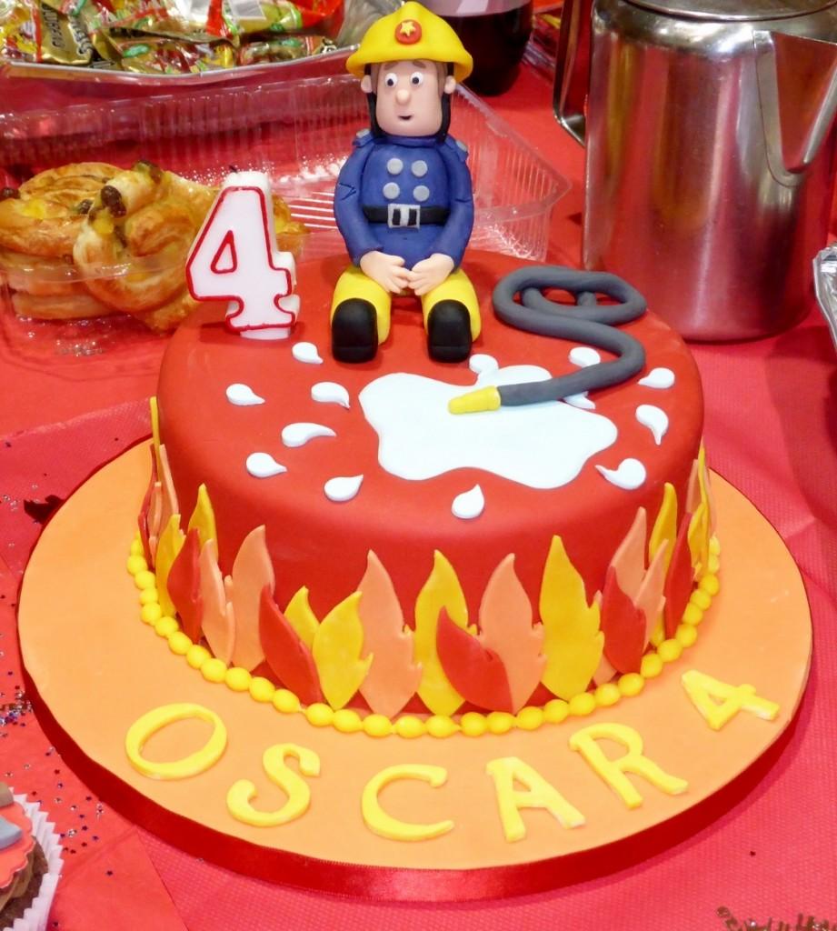 Fireman Cake Ideas