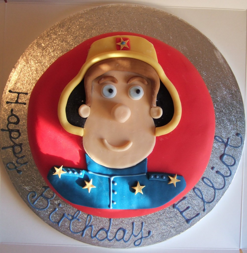 Fireman Cakes Images