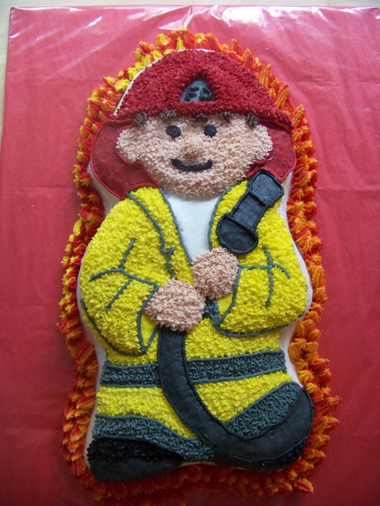 Fireman Cakes Pictures