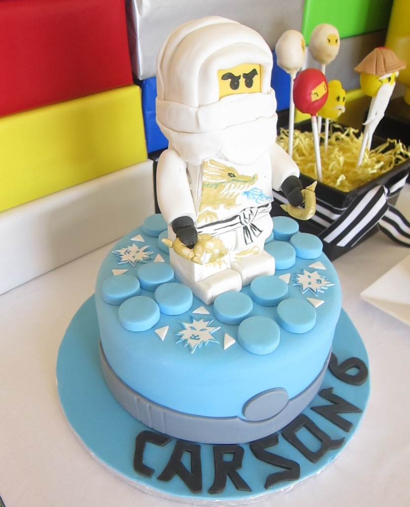 Lego Ninjago Birthday Cake Ideas