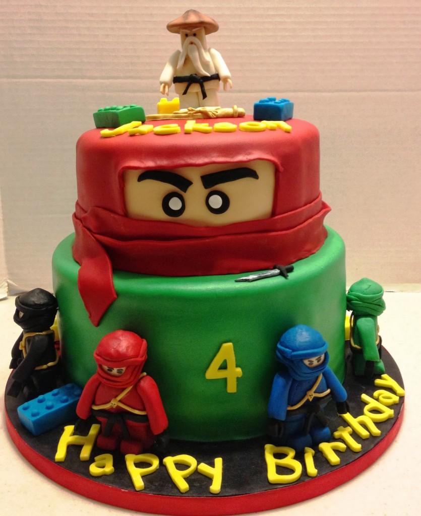 Lego Ninjago Birthday Cakes