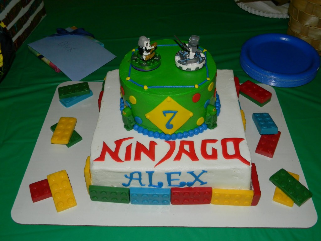 Ninjago Cake Decorations