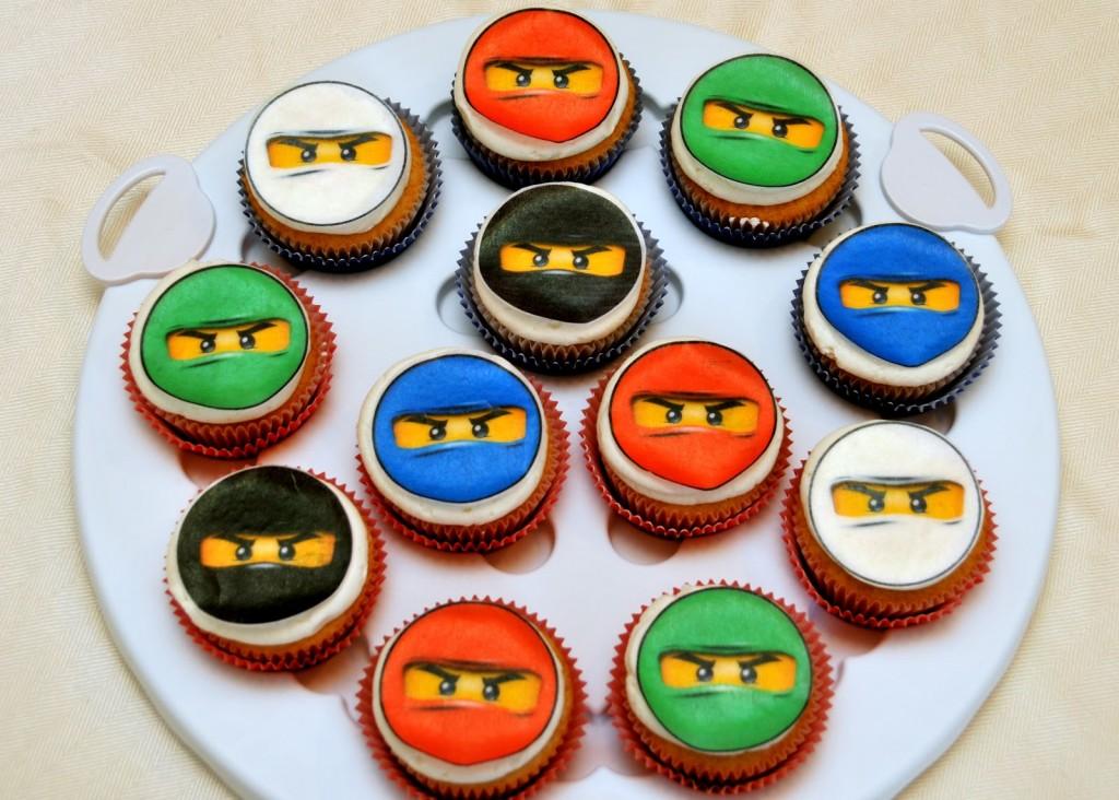 Ninjago Cupcake Cakes