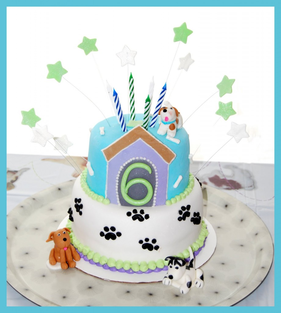 Puppy Birthday Cakes