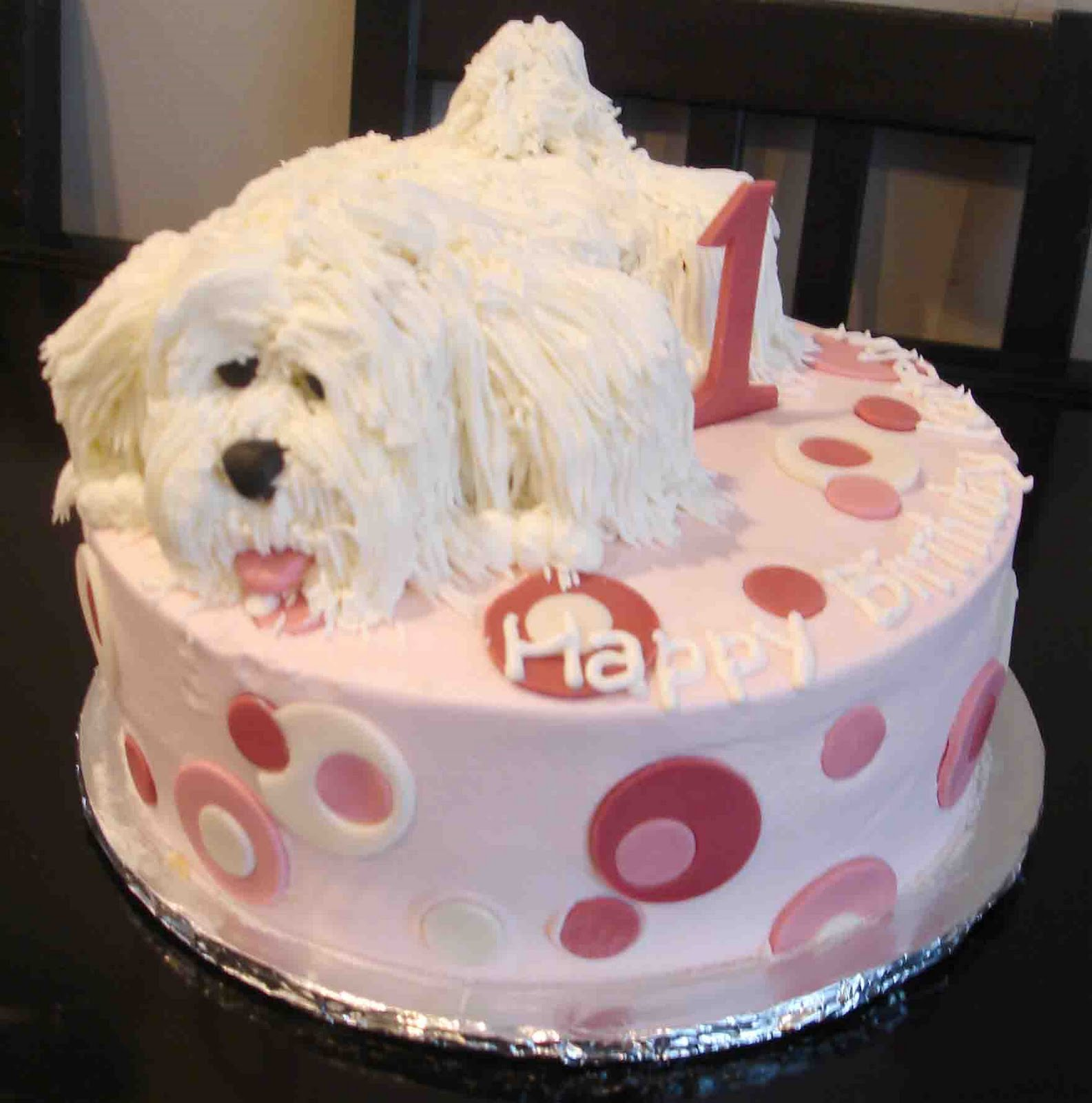 Wondrous Puppy Cakes Decoration Ideas Little Birthday Cakes Personalised Birthday Cards Veneteletsinfo